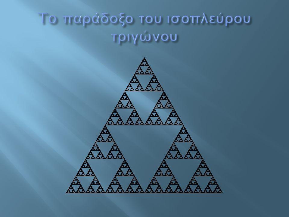 To παράδοξο του ισοπλεύρου τριγώνου