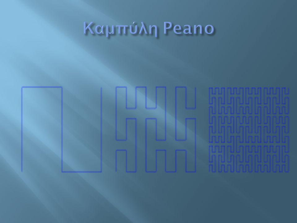 Καμπύλη Peano