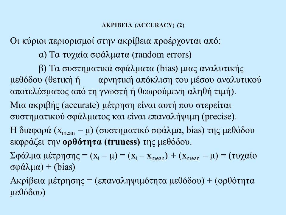 ΑΚΡΙΒΕΙΑ (ACCURACY) (2)
