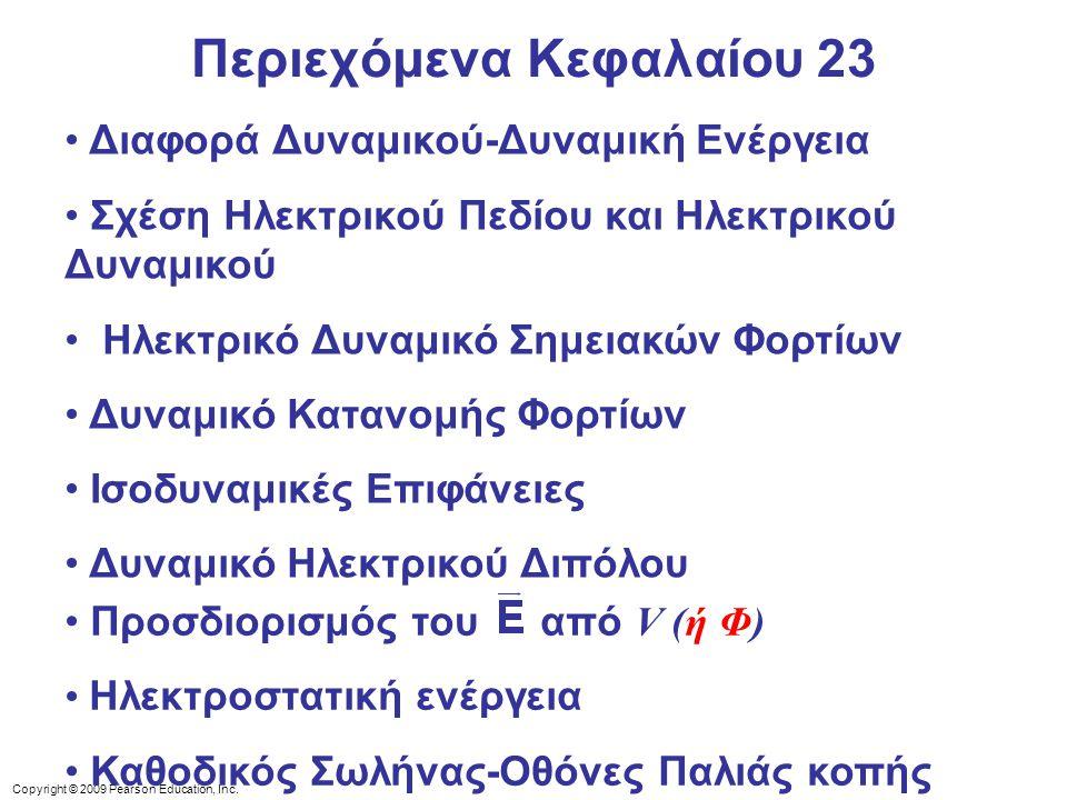 Περιεχόμενα Κεφαλαίου 23