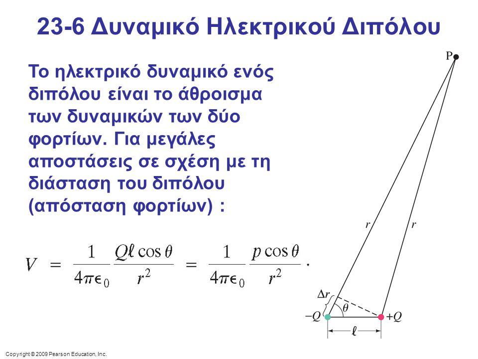 23-6 Δυναμικό Ηλεκτρικού Διπόλου