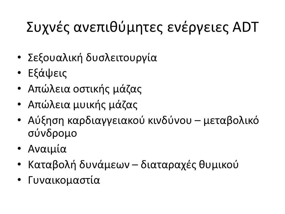 Συχνές ανεπιθύμητες ενέργειες ADT
