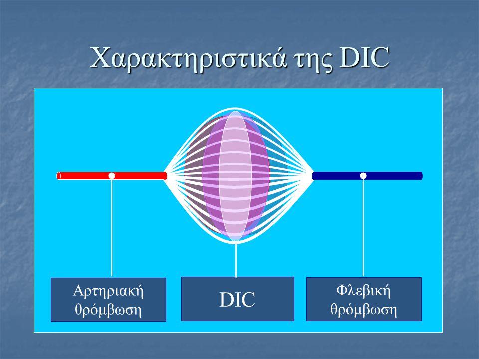 Χαρακτηριστικά της DIC