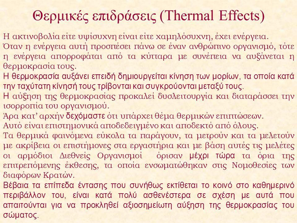 Θερμικές επιδράσεις (Thermal Effects)