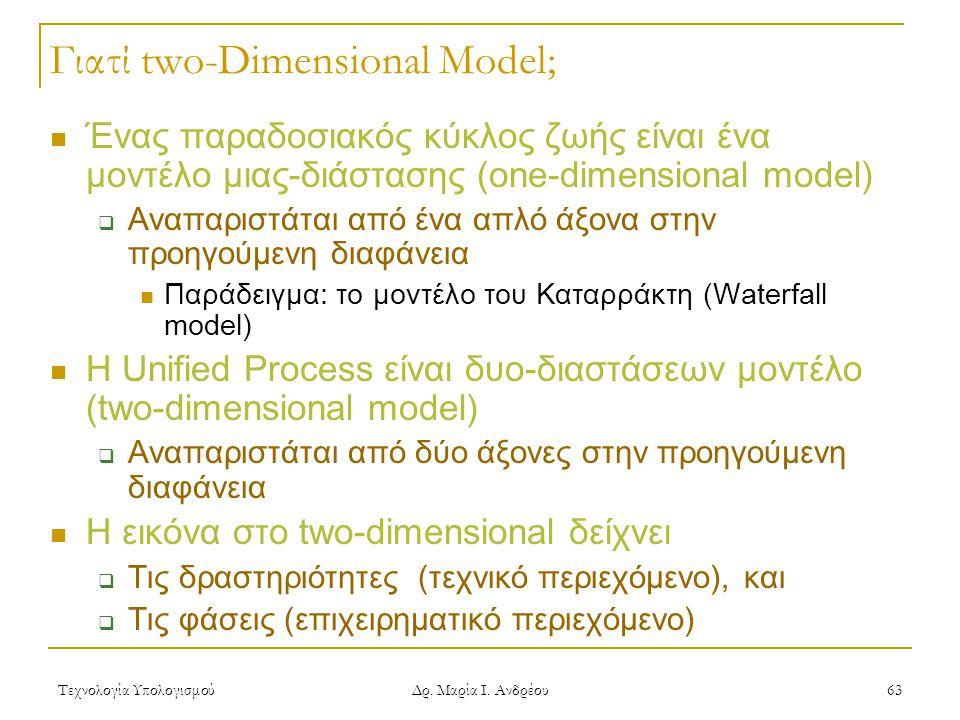 Γιατί two-Dimensional Model;