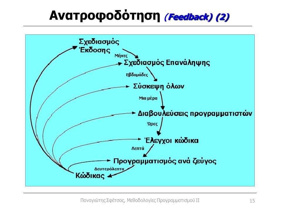 Ανατροφοδότηση (Feedback) (2)