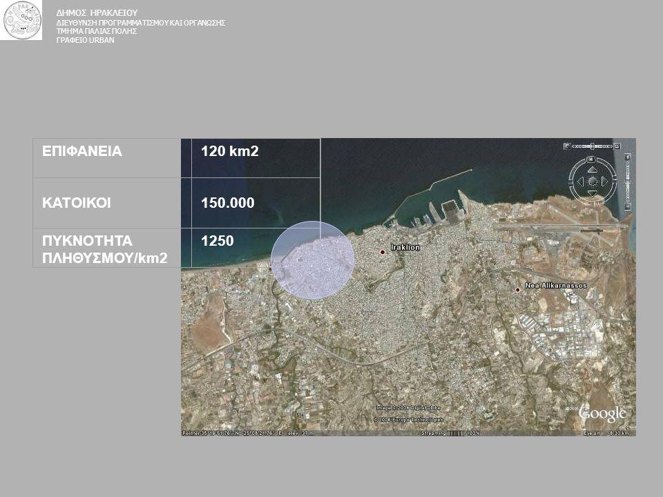 ΠΥΚΝΟΤΗΤΑ ΠΛΗΘΥΣΜΟΥ/km2 1250