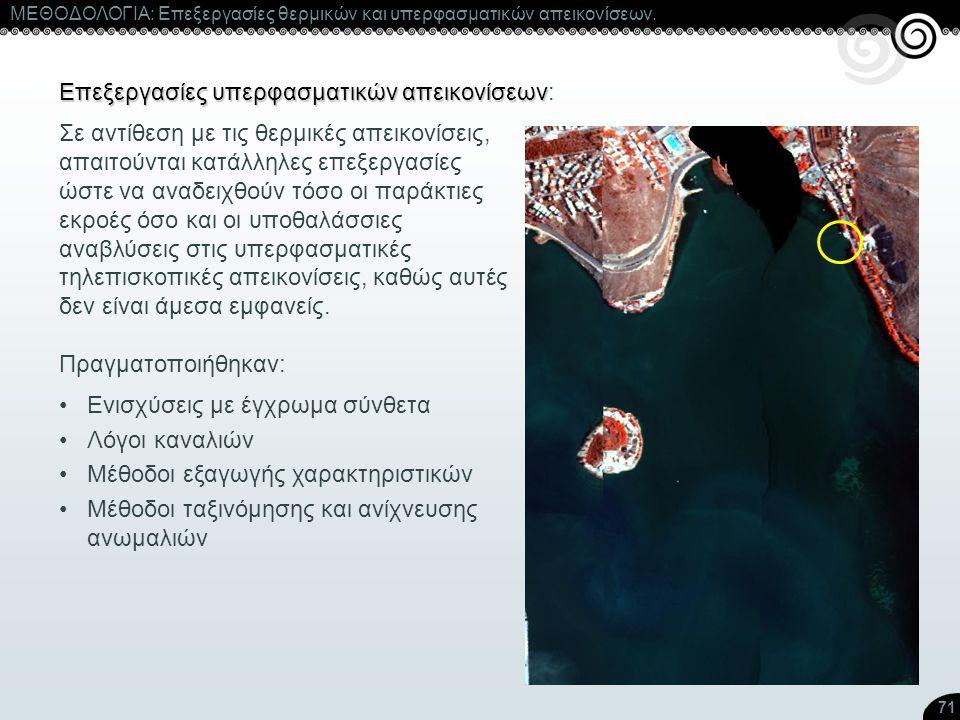 Επεξεργασίες υπερφασματικών απεικονίσεων: