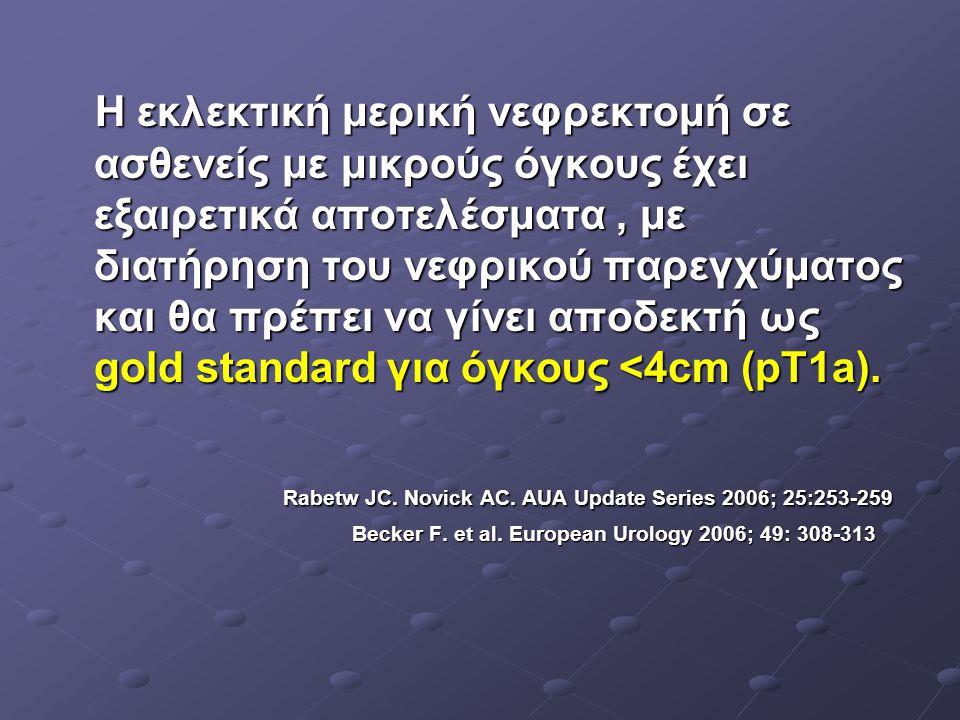 Rabetw JC. Novick AC. AUA Update Series 2006; 25:253-259