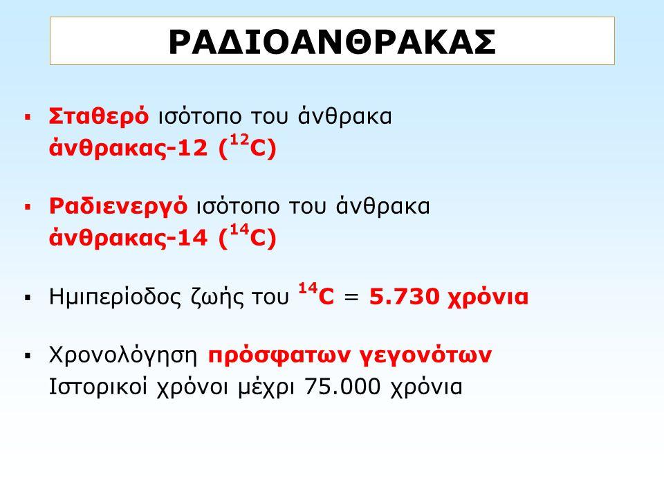 ΡΑΔΙΟΑΝΘΡΑΚΑΣ Σταθερό ισότοπο του άνθρακα άνθρακας-12 (12C)