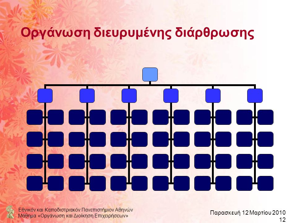 Οργάνωση διευρυμένης διάρθρωσης