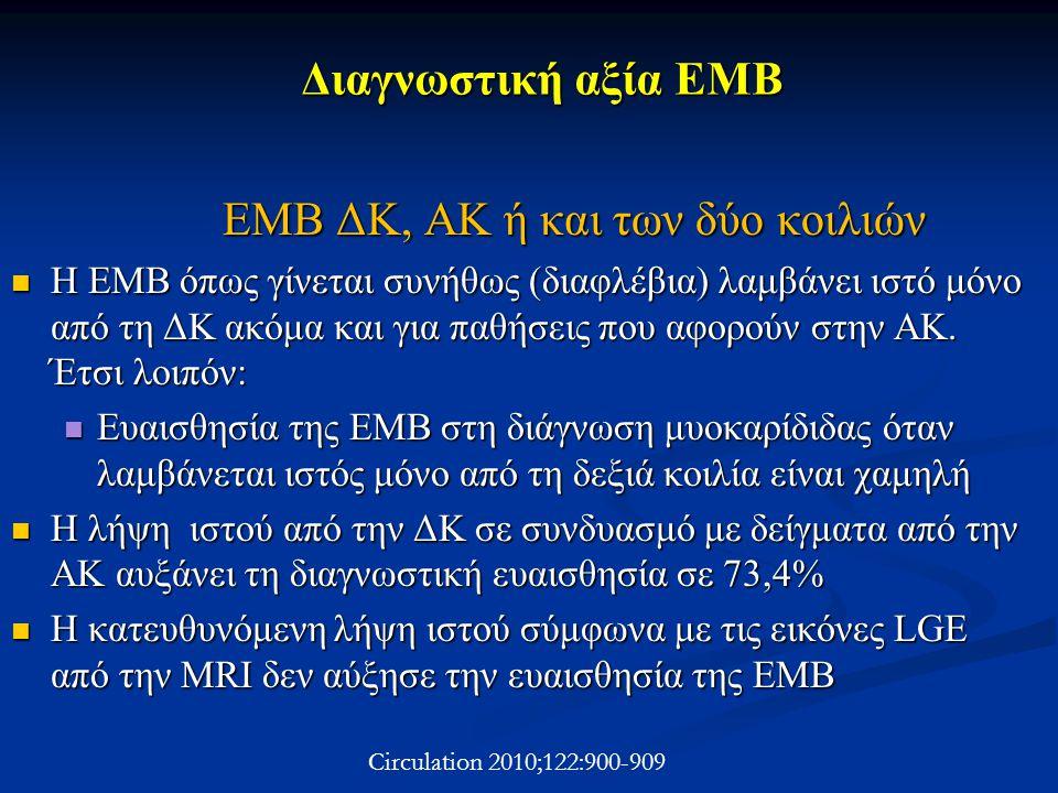 ΕΜΒ ΔΚ, ΑΚ ή και των δύο κοιλιών