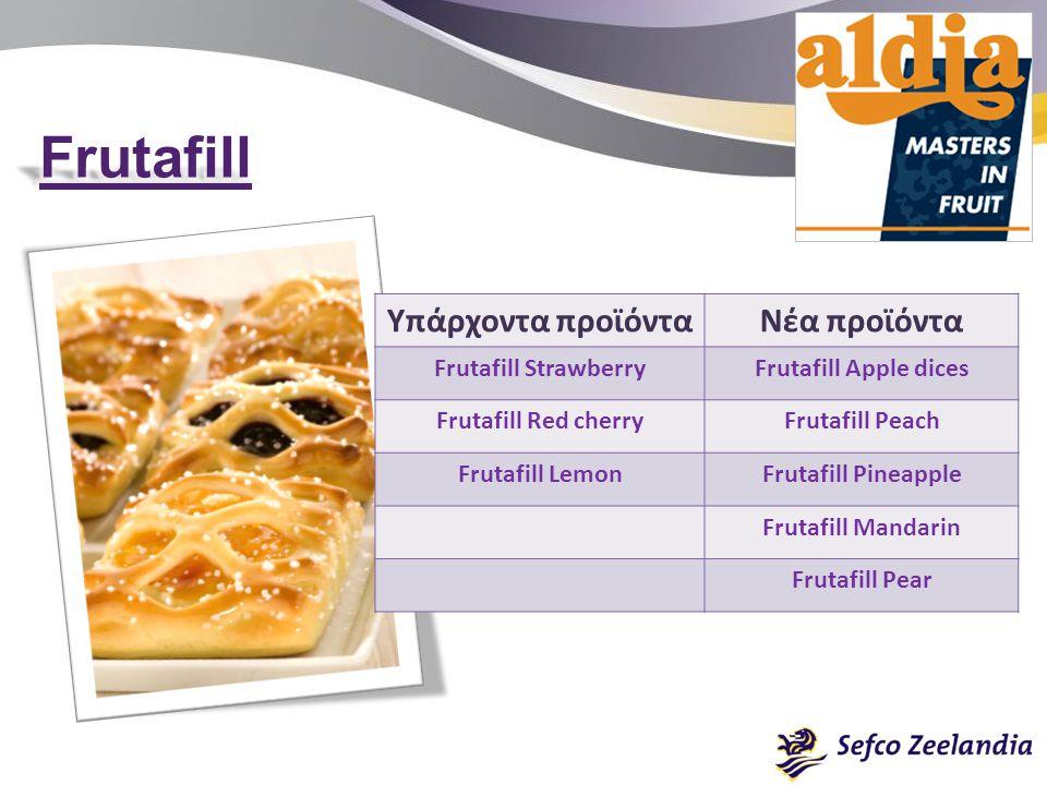 Frutafill Υπάρχοντα προϊόντα Νέα προϊόντα Frutafill Strawberry