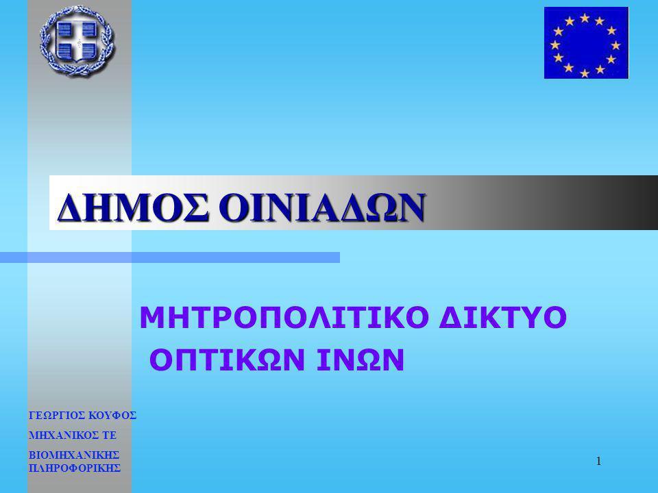 ΜΗΤΡΟΠΟΛΙΤΙΚΟ ΔΙΚΤΥΟ ΟΠΤΙΚΩΝ ΙΝΩΝ