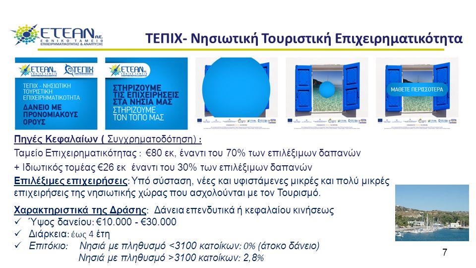 ΤΕΠΙΧ- Νησιωτική Τουριστική Επιχειρηματικότητα