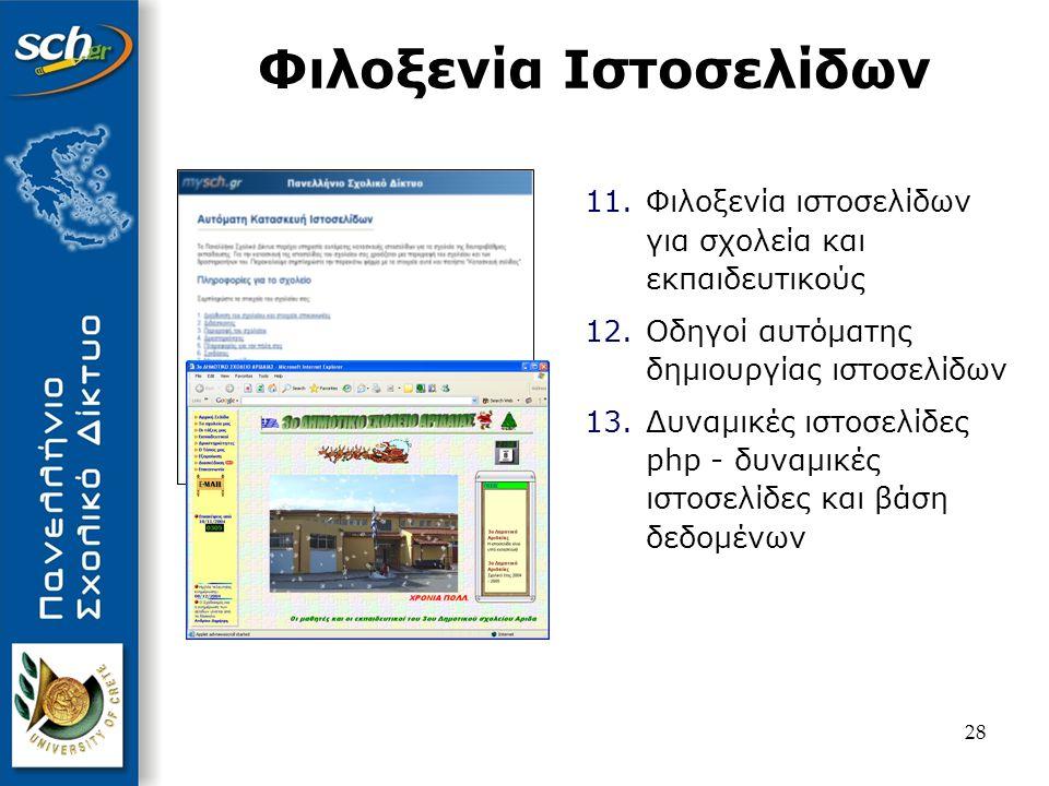 Φιλοξενία Ιστοσελίδων