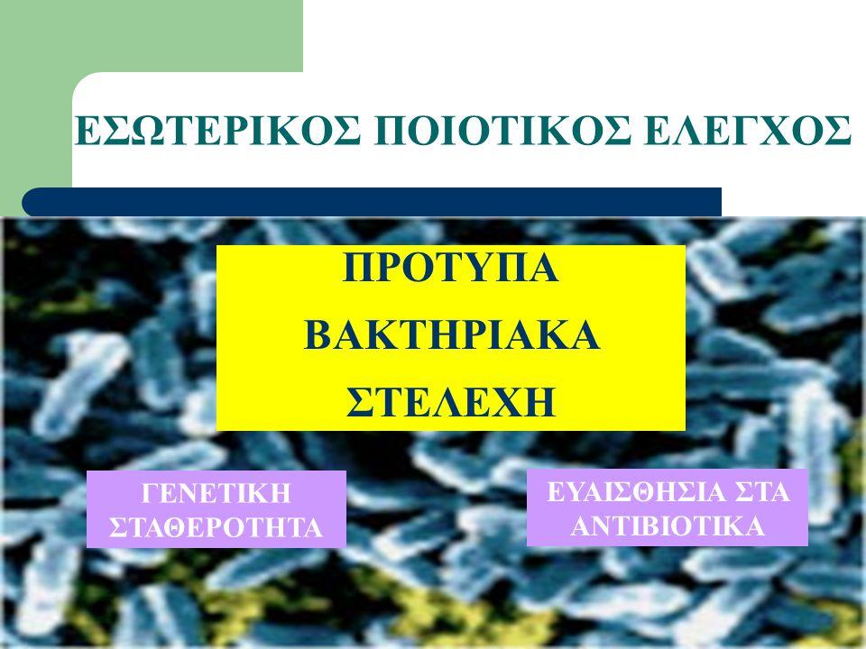 ΕΣΩΤΕΡΙΚΟΣ ΠΟΙΟΤΙΚΟΣ ΕΛΕΓΧΟΣ