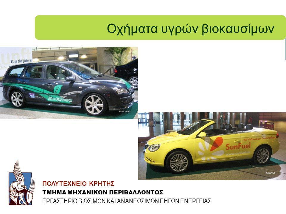 Οχήματα υγρών βιοκαυσίμων