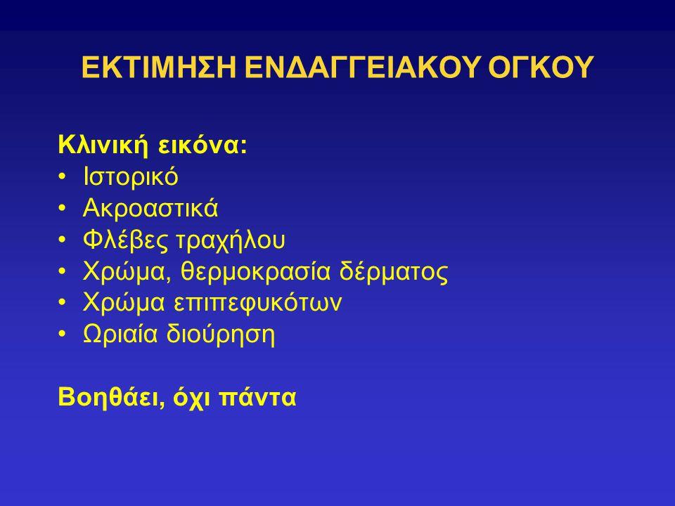 ΕΚΤΙΜΗΣΗ ΕΝΔΑΓΓΕΙΑΚΟΥ ΟΓΚΟΥ