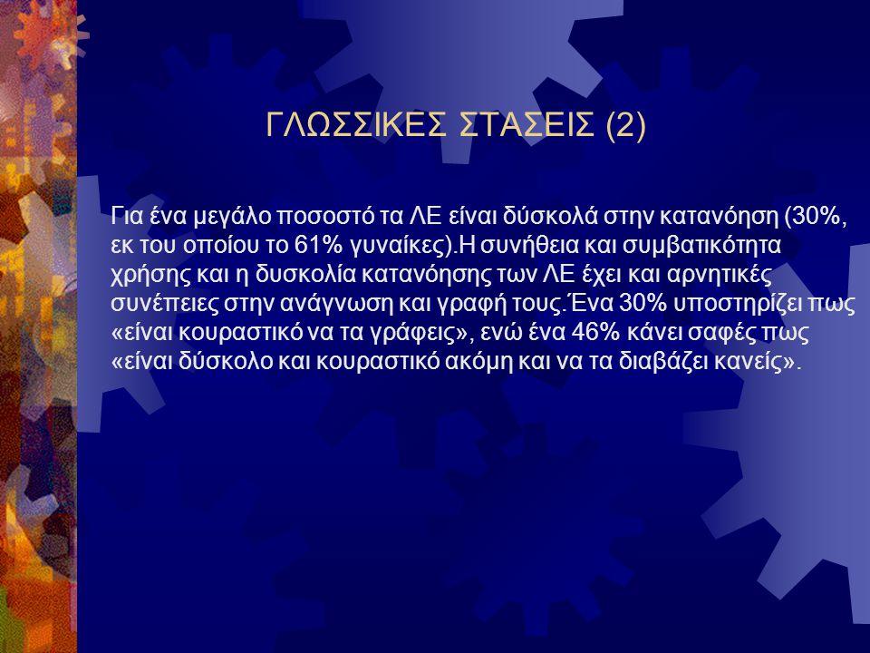 ΓΛΩΣΣΙΚΕΣ ΣΤΑΣΕΙΣ (2)
