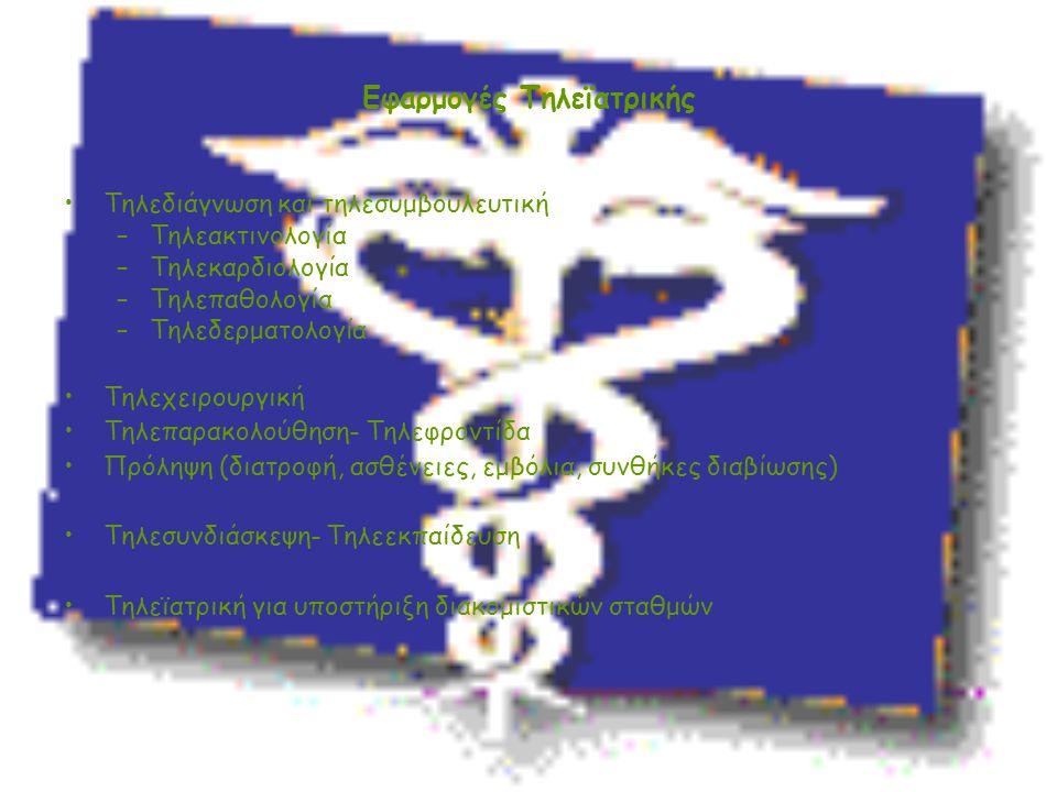 Εφαρμογές Τηλεϊατρικής