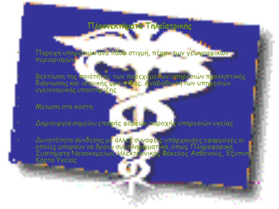 Πλεονεκτήματα Τηλεϊατρικής