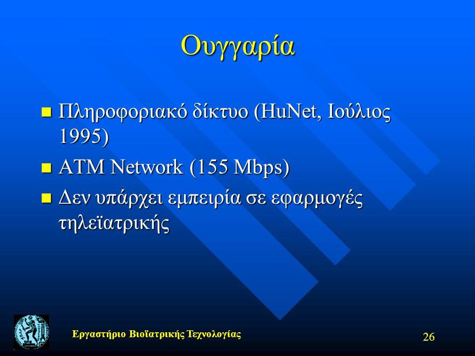 Ουγγαρία Πληροφοριακό δίκτυο (HuNet, Iούλιος 1995)