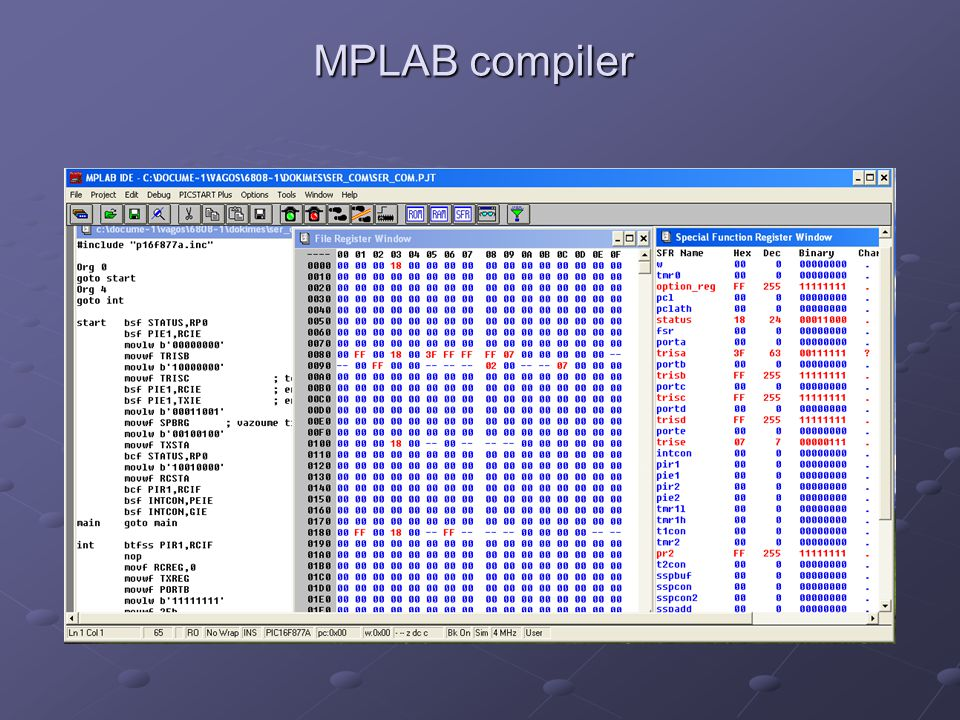 MPLAB compiler