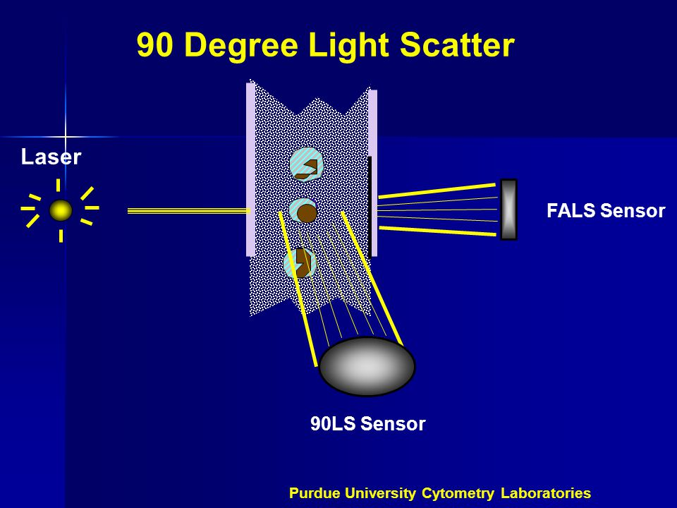 90 Degree Light Scatter Laser FALS Sensor 90LS Sensor