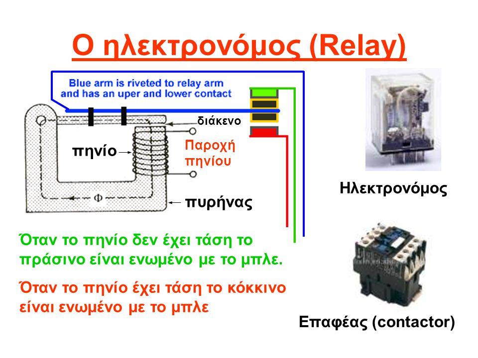 Ο ηλεκτρονόμος (Relay)