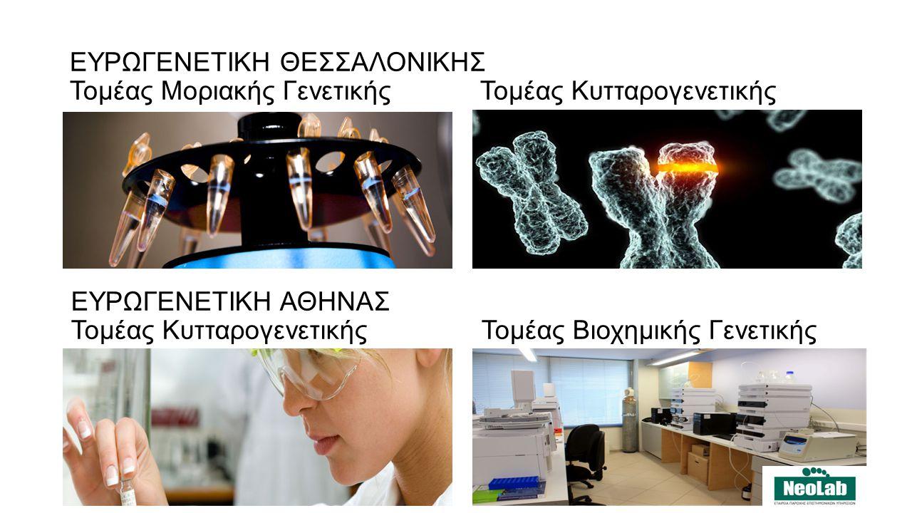 ΕΥΡΩΓΕΝΕΤΙΚΗ ΘΕΣΣΑΛΟΝΙΚΗΣ Τομέας Μοριακής Γενετικής