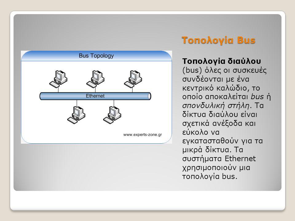 Τοπολογία Bus
