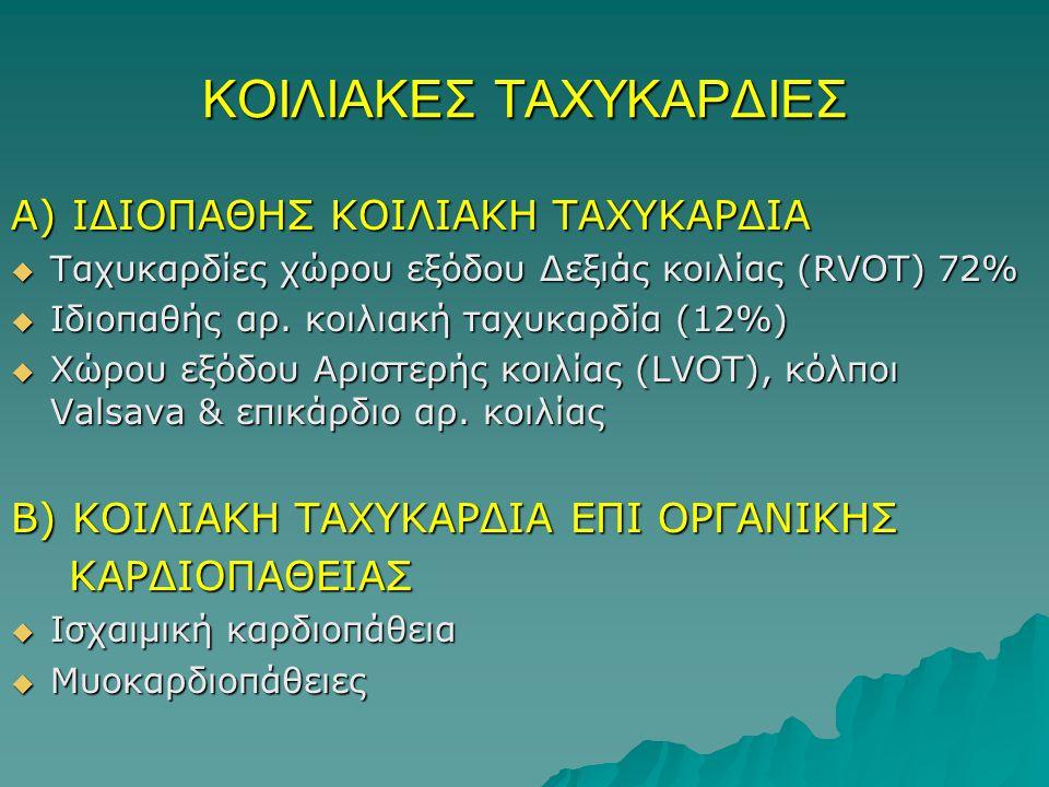 ΚΟΙΛΙΑΚΕΣ ΤΑΧΥΚΑΡΔΙΕΣ