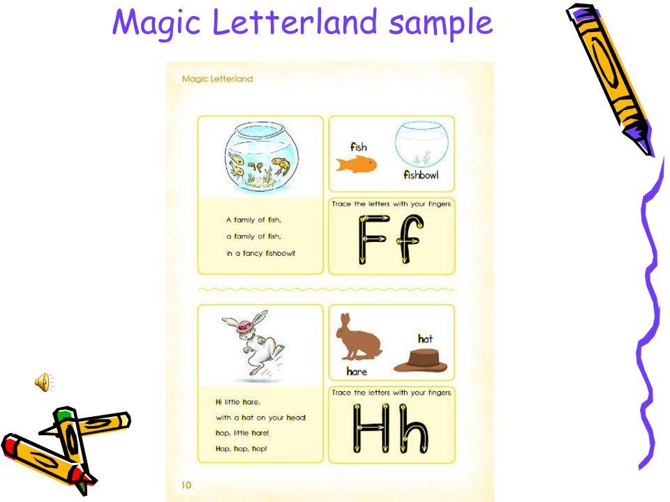 Magic Letterland sample