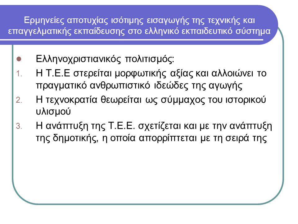 Ελληνοχριστιανικός πολιτισμός: