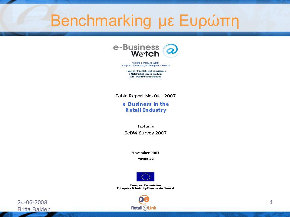 Benchmarking με Ευρώπη