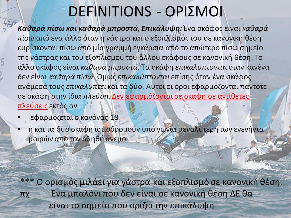 DEFINITIONS - ΟΡΙΣΜΟΙ