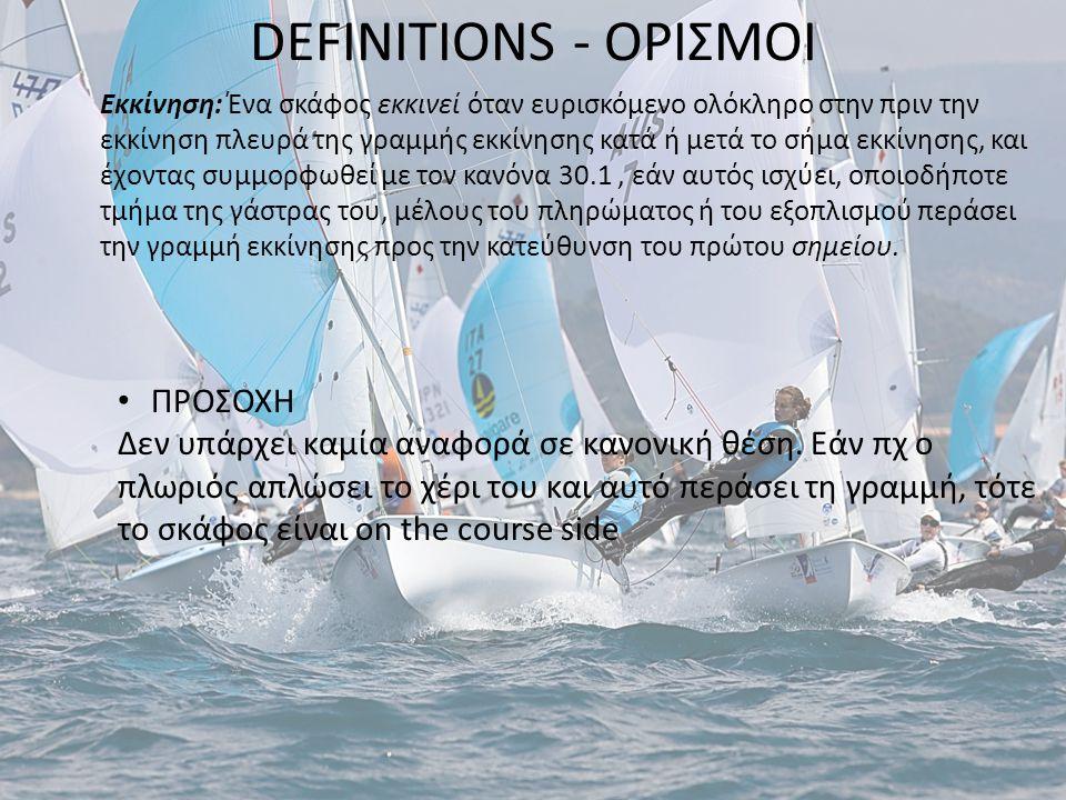 DEFINITIONS - ΟΡΙΣΜΟΙ ΠΡΟΣΟΧΗ