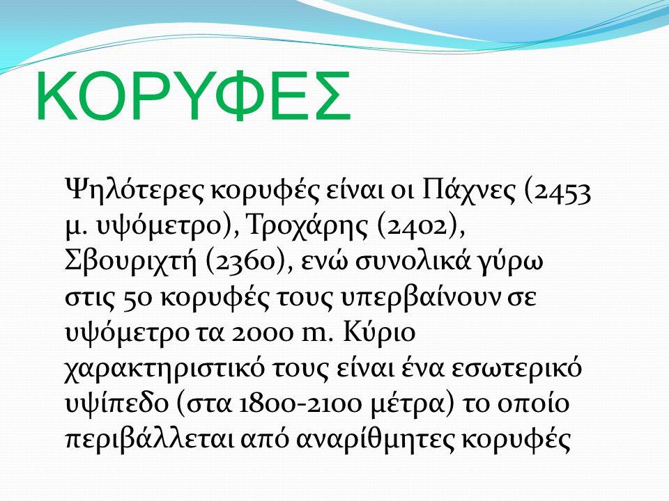 ΚΟΡΥΦΕΣ