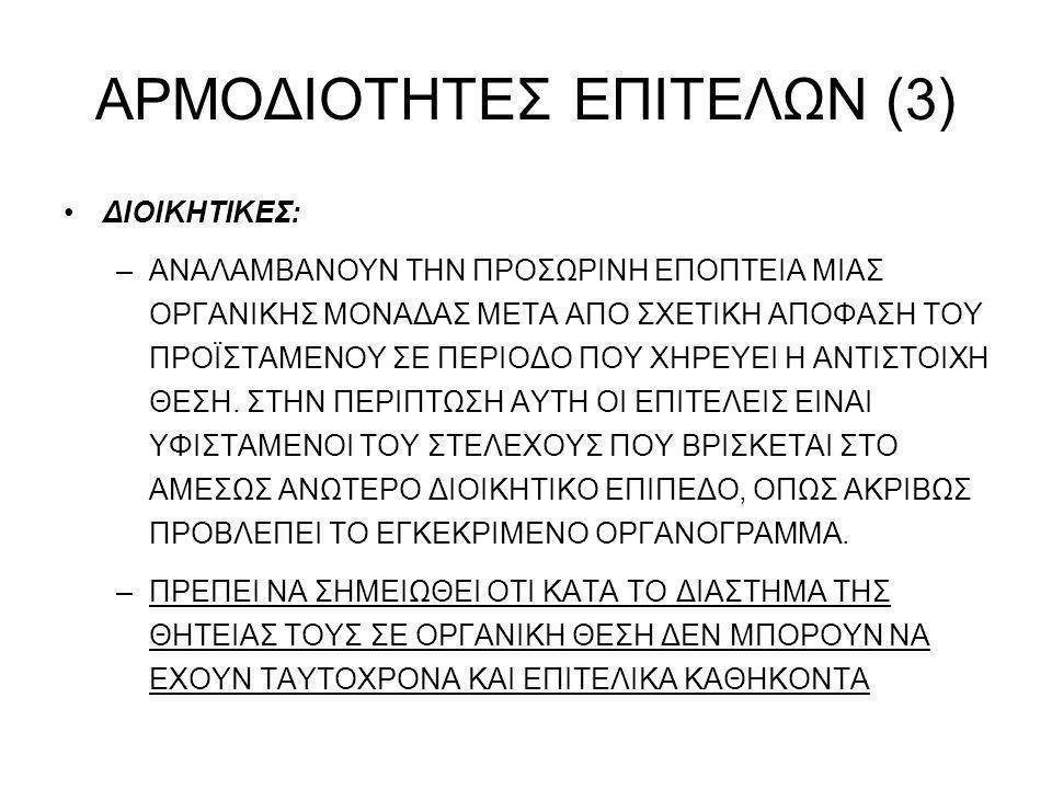 ΑΡΜΟΔΙΟΤΗΤΕΣ ΕΠΙΤΕΛΩΝ (3)