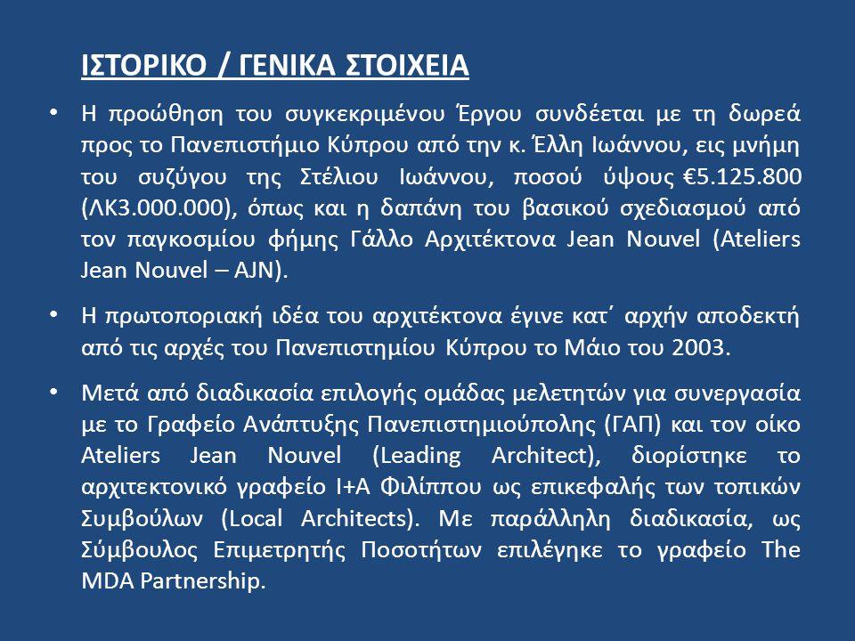 ΙΣΤΟΡΙΚΟ / ΓΕΝΙΚΑ ΣΤΟΙΧΕΙΑ
