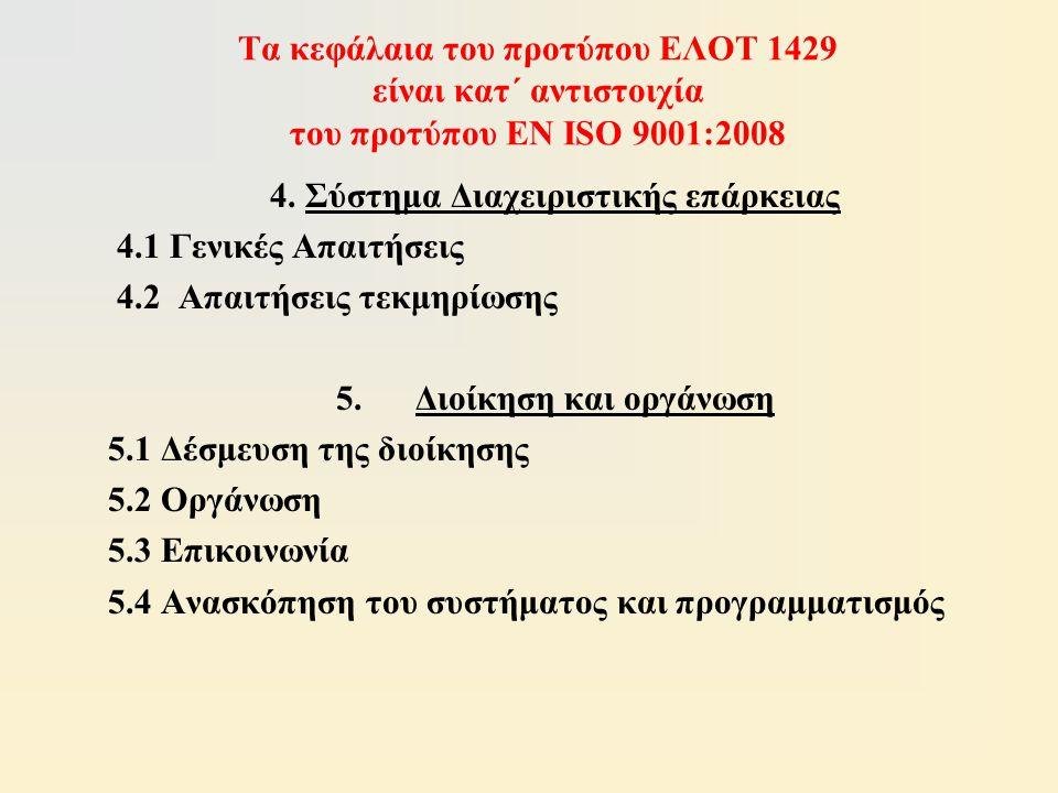 4. Σύστημα Διαχειριστικής επάρκειας