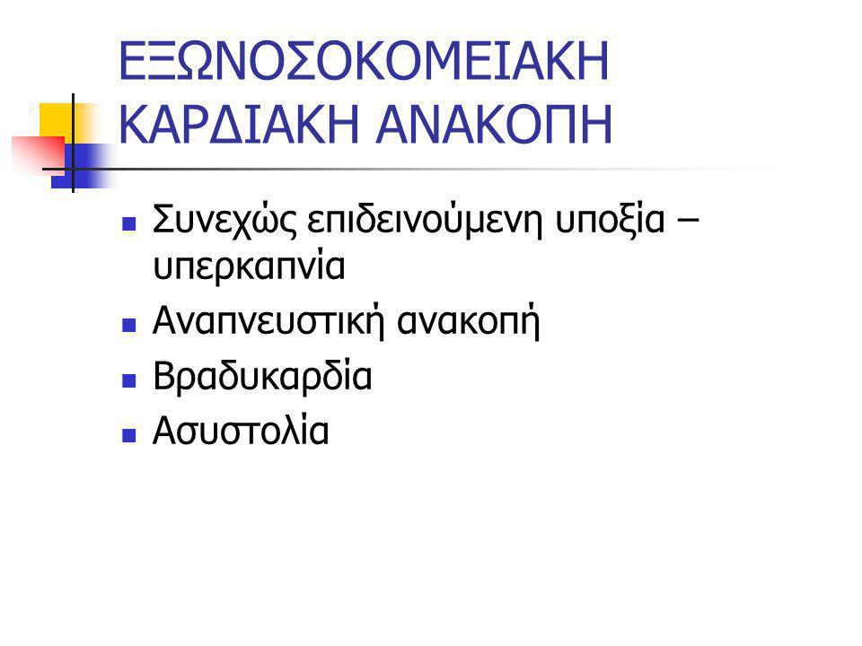 ΕΞΩΝΟΣΟΚΟΜΕΙΑΚΗ ΚΑΡΔΙΑΚΗ ΑΝΑΚΟΠΗ