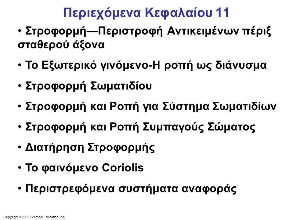 Περιεχόμενα Κεφαλαίου 11