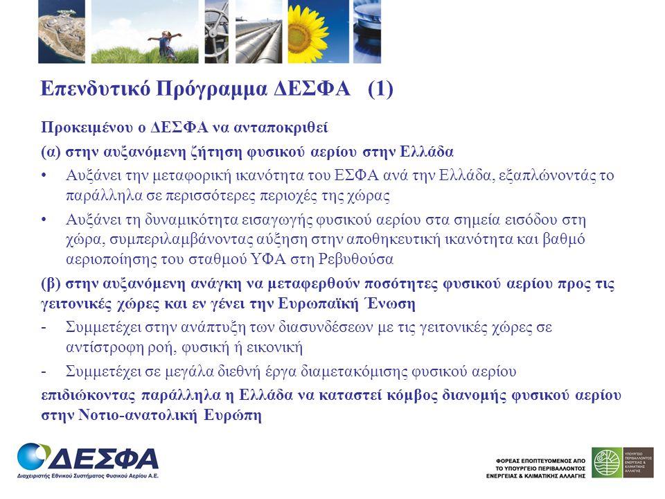 Επενδυτικό Πρόγραμμα ΔΕΣΦΑ (1)