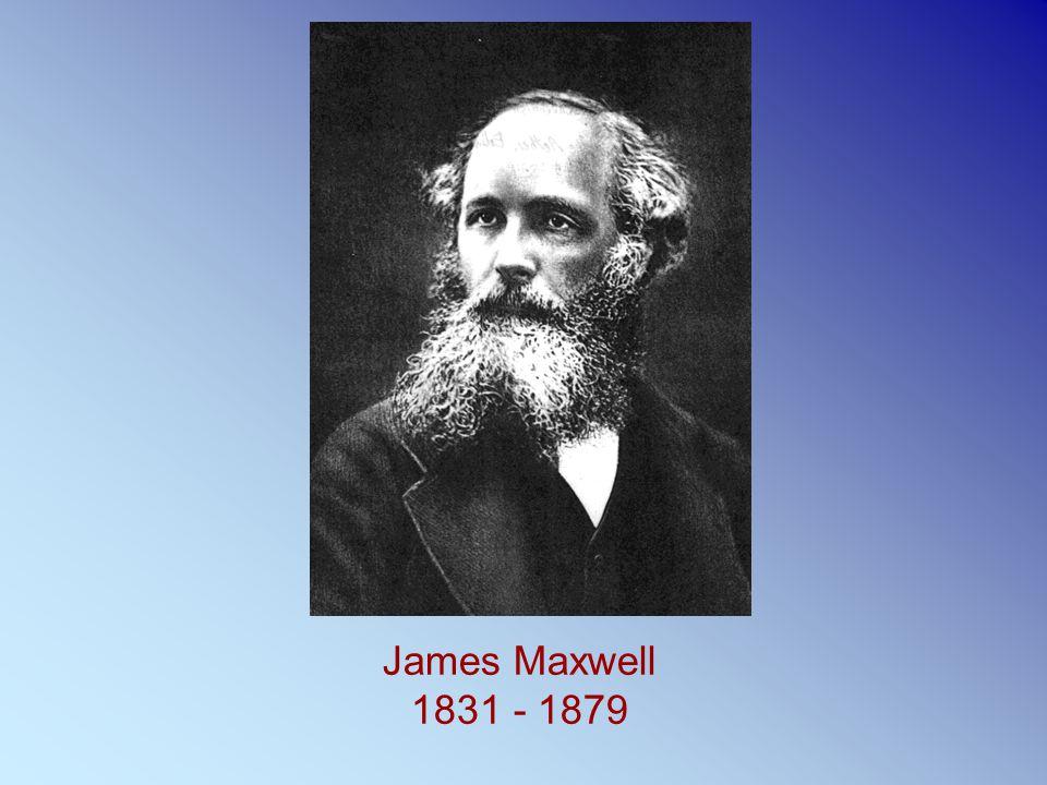 James Maxwell 1831 - 1879