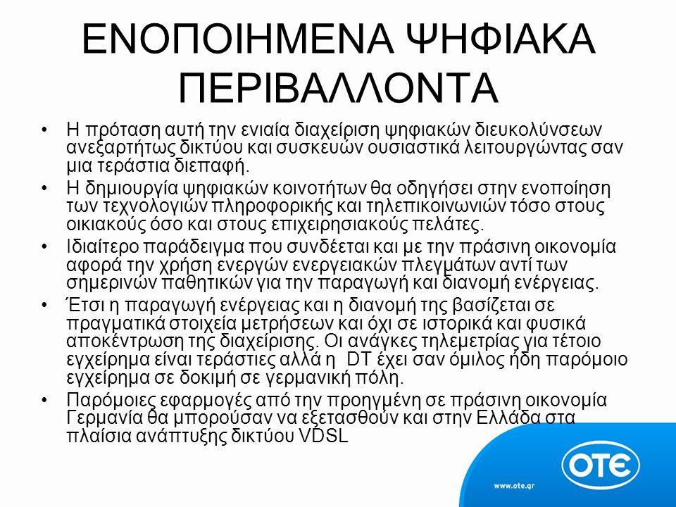 ΕΝΟΠΟΙΗΜΕΝΑ ΨΗΦΙΑΚΑ ΠΕΡΙΒΑΛΛΟΝΤΑ