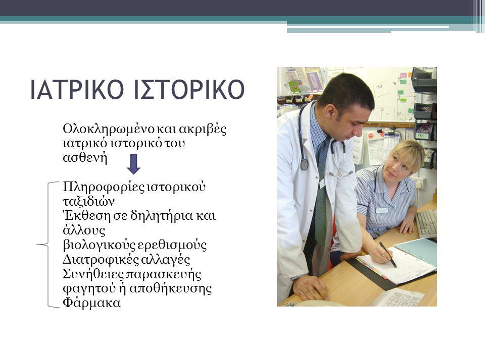 ΙΑΤΡΙΚΟ ΙΣΤΟΡΙΚΟ