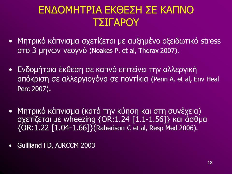 ENΔΟΜΗΤΡΙΑ ΕΚΘΕΣΗ ΣΕ ΚΑΠΝΟ ΤΣΙΓΑΡΟΥ