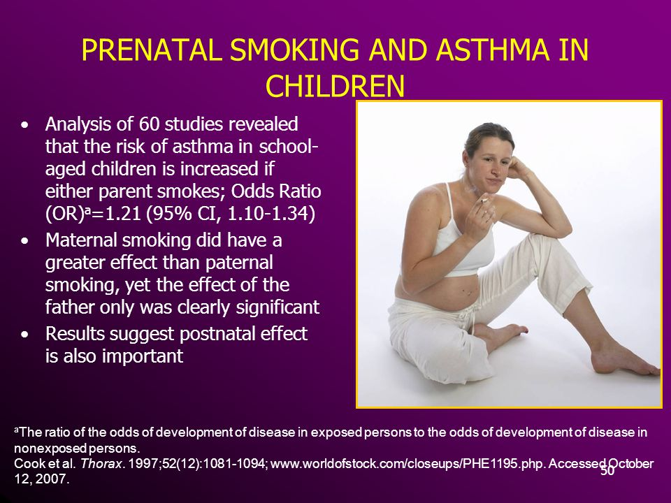 PRENATAL SMOKING AND ASTHMA IN CHILDREN